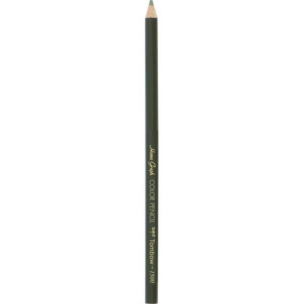 トンボ鉛筆Tombow色鉛筆1500単色まつば色1500-09