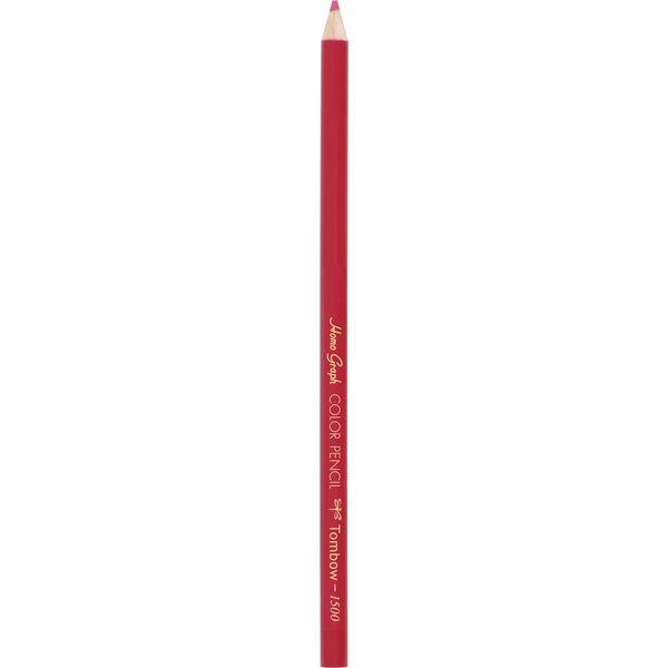 トンボ鉛筆Tombow色鉛筆1500単色紅色1500-24