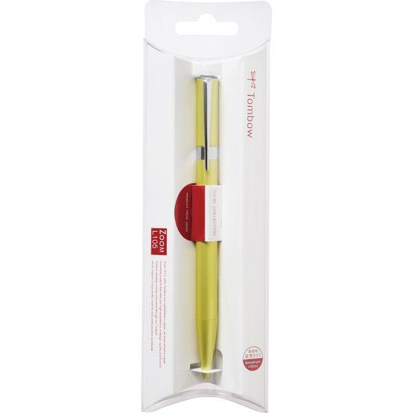 トンボ鉛筆Tombow油性BPZOOML105ライムGパックFLB-111I