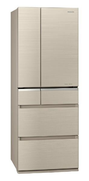 パナソニックPanasonicNR-F506XPV-N冷蔵庫XPVタイプマチュアゴールド[6ドア/観音開きタイプ/501L][冷蔵庫大型]《基本設置料金セット》
