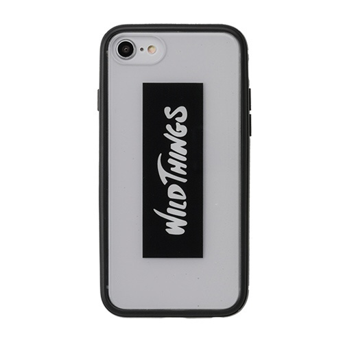 HAMEEハミィiPhoneSE(第2世代)4.7インチ/iPhone8/7/6s/6専用WILDTHINGS(ワイルドシングス)HybridCaseWILDTHINGSロゴ/クリア360-912508