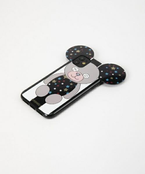 IPHORIAアイフォリアTeddyCaseStarsB&WStripesforiPhone11スターストライプテディIPHORIA(アイフォリア)17239