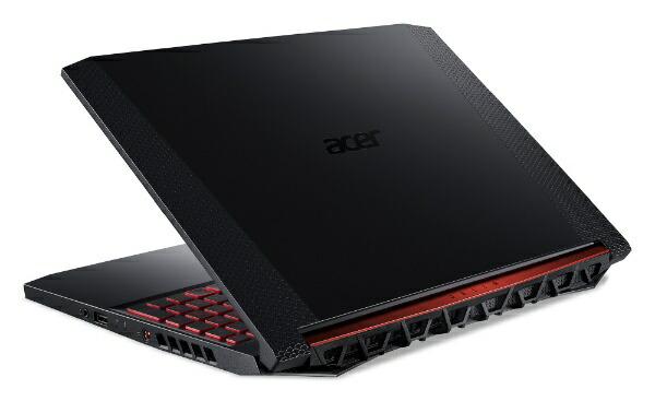 ACERエイサーAN515-54-F76QG6ゲーミングノートパソコンNitro5オブシディアンブラック[15.6型/intelCorei7/HDD:1TB/SSD:128GB/メモリ:16GB/2020年02月モデル]