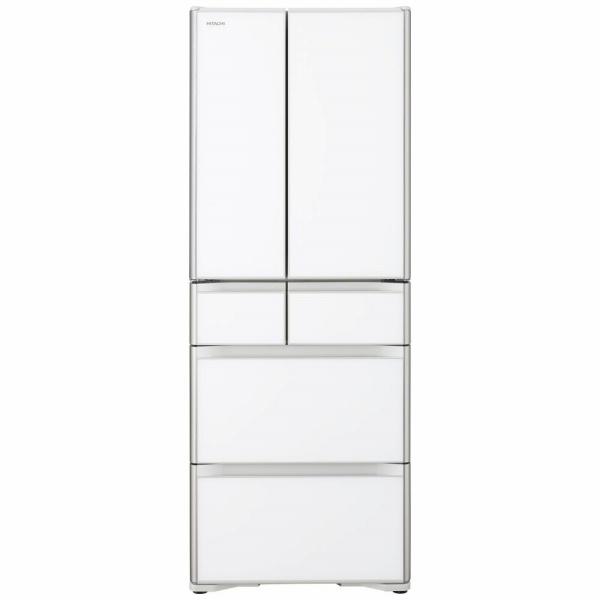 日立HITACHIR-X48N-XW冷蔵庫クリスタルホワイト[6ドア/観音開きタイプ/475L][冷蔵庫大型]《基本設置料金セット》
