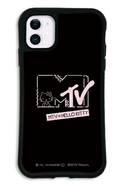 ケースオクロックcaseoclockiPhone11WAYLLY-MK×MTV×ハローキティセットドレッサーカワイイポップロゴブラックmkmtvk-set-11-kbl