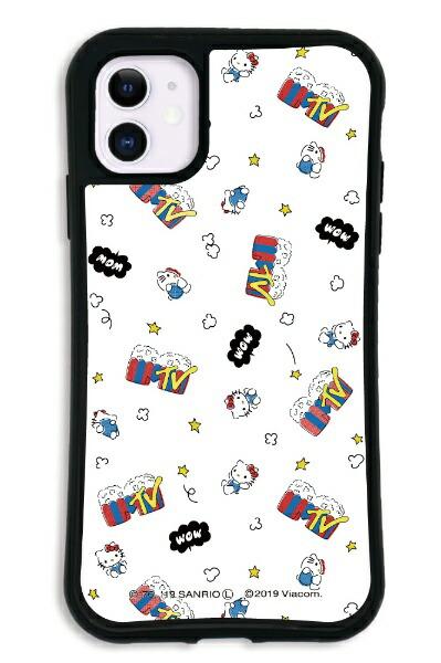 ケースオクロックcaseoclockiPhone11WAYLLY-MK×MTV×ハローキティセットドレッサーファンポップホワイトmkmtvk-set-11-fwh