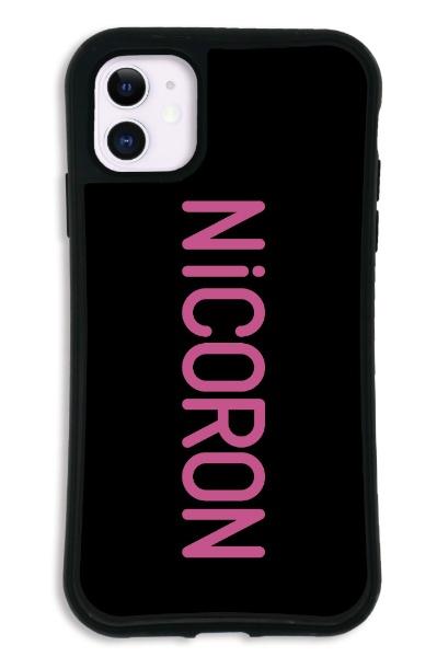 ケースオクロックcaseoclockiPhone11WAYLLY-MK×NiCORON【セット】ドレッサーロゴmkncr-set-11-lg