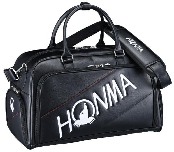 本間ゴルフHONMAGOLFボストンバッグシューズポケット付きトーナメントプロモデルボストンバッグ(W50×H30×D25cm/ブラック)BB-12001