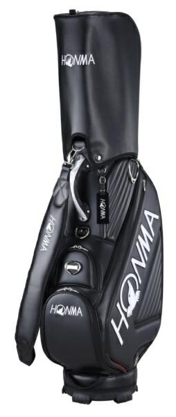 本間ゴルフHONMAGOLFキャディバッグHONMAトーナメントプロレプリカモデルキャディバッグ(9.5型/ブラック)CB-12003
