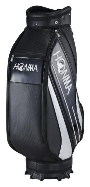 本間ゴルフHONMAGOLFキャディバッグHONMAサイドライン入りスポーツタイプキャディバッグ(9.0型/ブラック)CB-12016