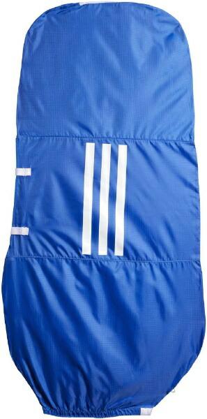 アディダスadidasゴルフトラベルカバー(グローリーブルー×ホワイト/72x140cm・8.5〜9.5インチ対応)GUV86