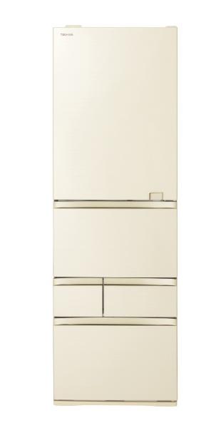 東芝TOSHIBA冷蔵庫VEGETA(ベジータ)GZシリーズラピスアイボリーGR-S500GZL-ZC[5ドア/左開きタイプ/501L]《基本設置料金セット》[冷蔵庫大型]