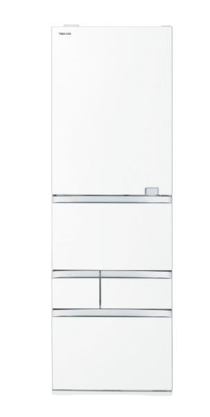 東芝TOSHIBAGR-S470GZ-UW冷蔵庫VEGETA(ベジータ)GZシリーズクリアグレインホワイト[5ドア/右開きタイプ/465L][冷蔵庫大型]《基本設置料金セット》