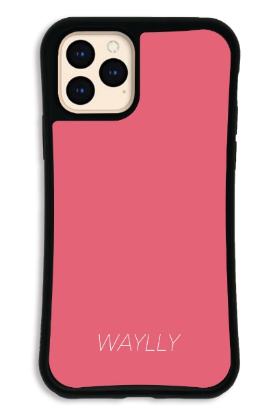 ケースオクロックcaseoclockiPhone11ProWAYLLY-MKセットドレッサースモールロゴピーチピンクWAYLLYmksl-set-pro-ppk