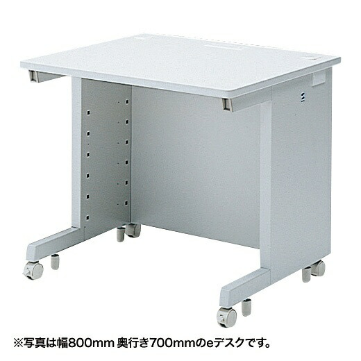 サンワサプライSANWASUPPLYeデスク(Wタイプ・W800×D800mm)ED-WK8080N