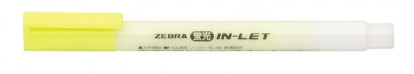 ゼブラZEBRA蛍光インレット黄WKS9-Y