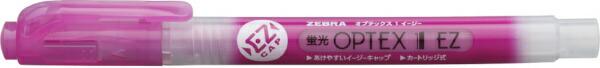 ゼブラZEBRA蛍光オプテックス1-EZ赤紫WKS11-WR