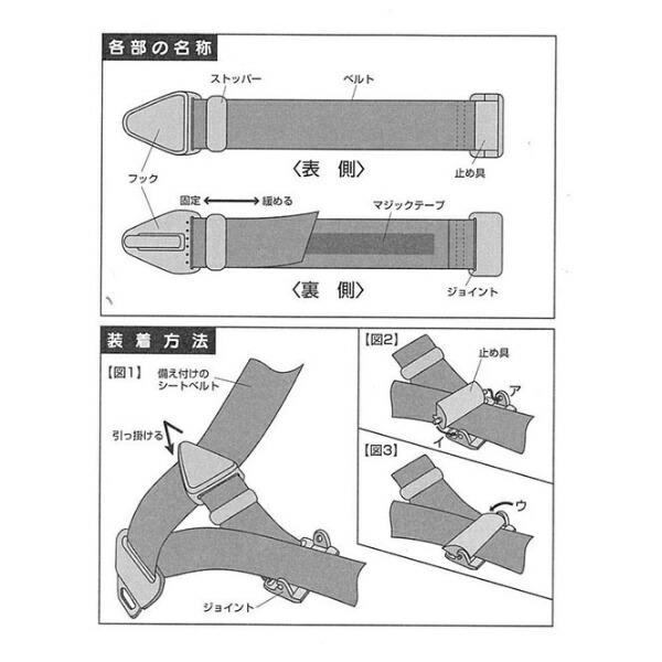富士商FUJISHOチャイルドサポートベルトBブルーF7816