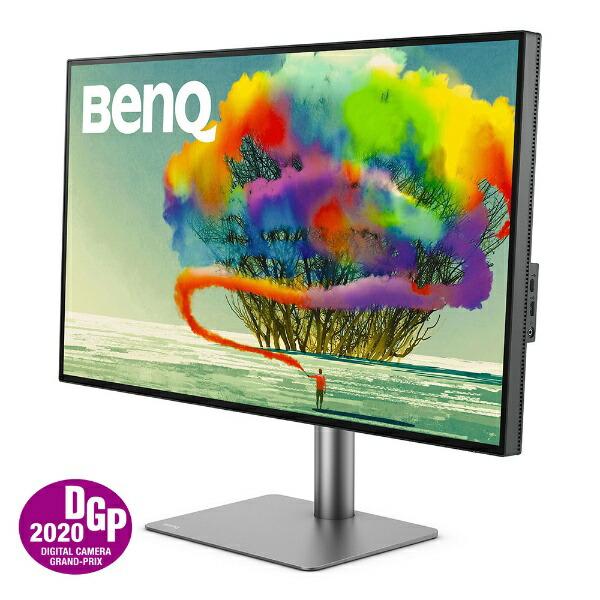 BenQベンキューPD3220UThunderbolt接続PCモニターデザイナー向けグレー[31.5型/ワイド/4K(3840×2160)][31.5インチ液晶ディスプレイパソコンモニター]