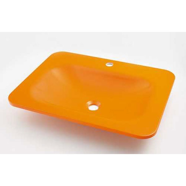 カクダイKAKUDAIカクダイMR-493220Y角型洗面器Gオレンジ