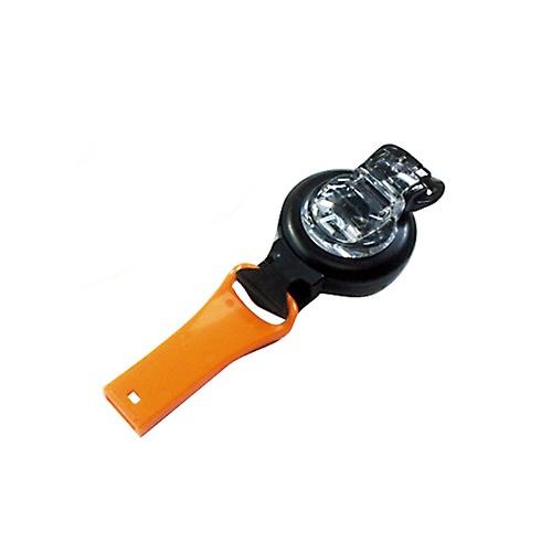 ハイマウントHIGHMOUNTクリップホイッスルリール付(リール長さ70cm/オレンジ)23154