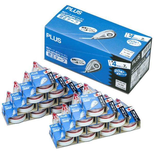 プラスPLUS修正テープミニWH-504-20PWH-504-20P