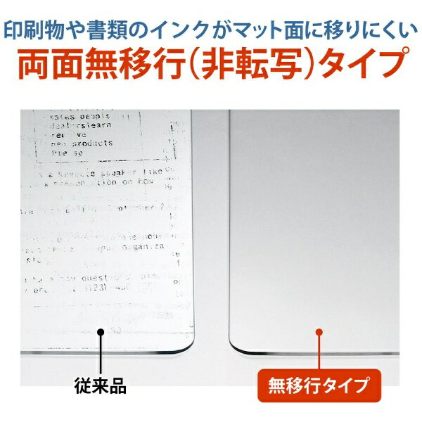 プラスPLUSプラスマット硬質マット106下敷LGDM-106PW