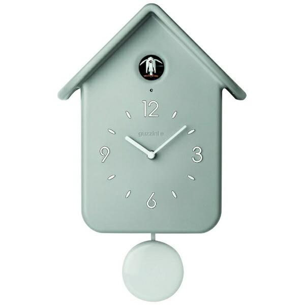 グッチーニGUZZINI振り子鳩時計QQCUCKOOグレー16860208