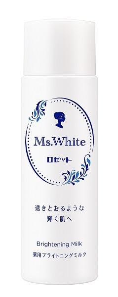 ロゼットROSETTEMs.White薬用ブライトニングミルク(150ml)〔乳液〕