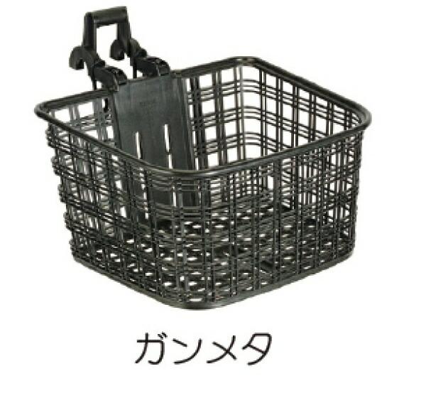 OGKオージーケーフロントバスケットATB・クロスバイク用バスケット(幅350x高190x奥行270mm/ガンメタ)FB022X-L