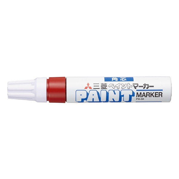 三菱鉛筆MITSUBISHIPENCILペイントマーカー太字赤1P