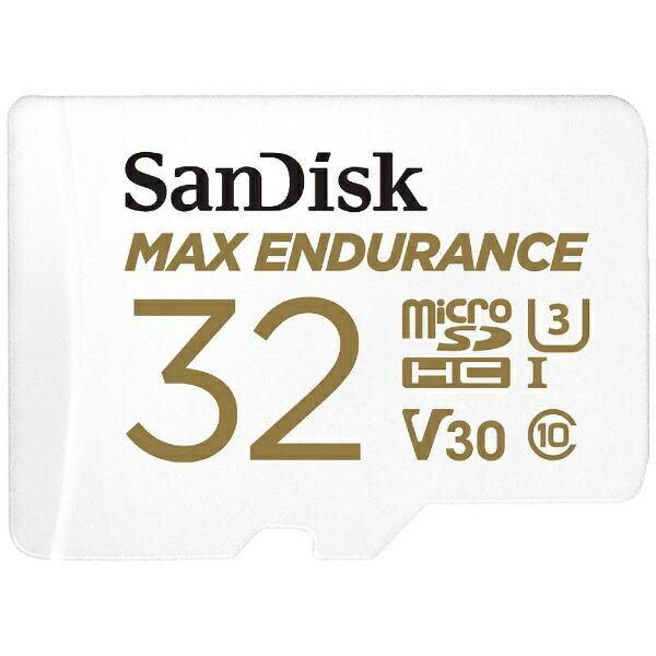 サンディスクSanDiskmicroSDHCカードUHS-IMAXENDURANCE高耐久SDSQQVR-032G-JN3ID[32GB/Class10]