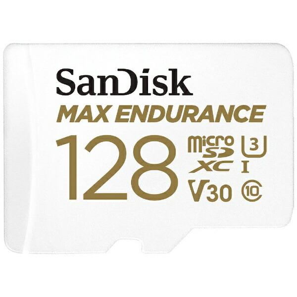 サンディスクSanDiskmicroSDXCカードUHS-IMAXENDURANCE高耐久SDSQQVR-128G-JN3ID[128GB/Class10]
