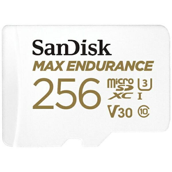 サンディスクSanDiskmicroSDXCカードUHS-IMAXENDURANCE高耐久SDSQQVR-256G-JN3ID[256GB/Class10]