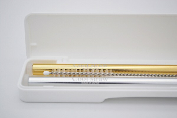 アイデアセキカワSEKIKAWA日本製マイストローセット(専用ケース付)マーメイドシルバー&ゴールド4710018