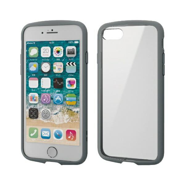 エレコムELECOMiPhoneSE(第2世代)4.7インチ対応TOUGHSLIMLITEフレームカラーグレーPM-A19ATSLFCGY