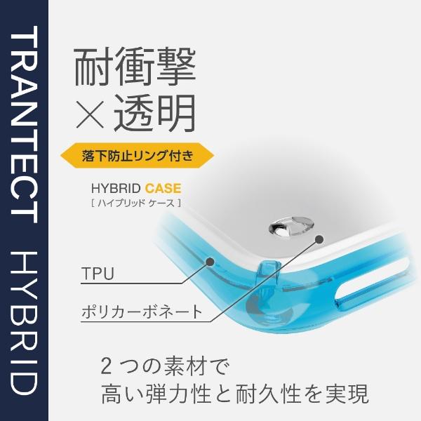 エレコムELECOMiPhoneSE(第2世代)4.7インチ対応ハイブリッドケースリング付シルバーPM-A19AHVCRSV