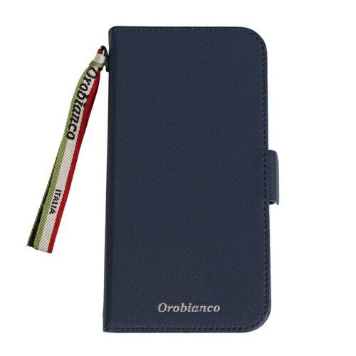 イングリウッドinglewoodiPhone11Orobiancoサフィアーノ調PULeatherBookTypeCaseNAVYorobiancoIP11-ORB02