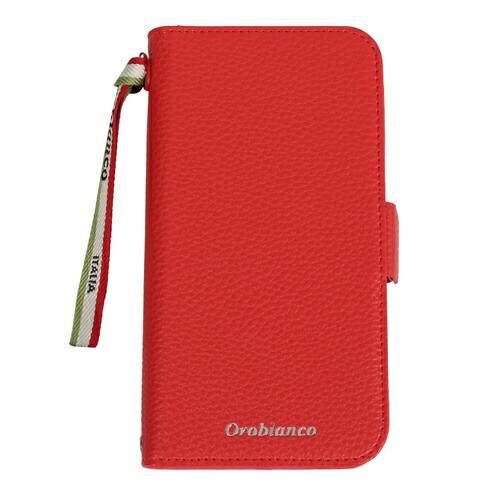 イングリウッドinglewoodiPhone11OrobiancoシュリンクPULeatherBookTypeCaseREDorobiancoIP11-ORB07