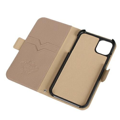 イングリウッドinglewoodiPhone11OrobiancoシュリンクPULeatherBookTypeCaseGREGEorobiancoIP11-ORB08