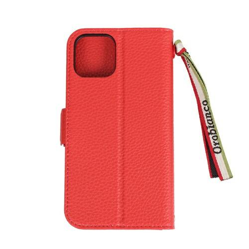 イングリウッドinglewoodiPhone11ProOrobiancoシュリンクPULeatherBookTypeCaseREDorobiancoIP11p-ORB07