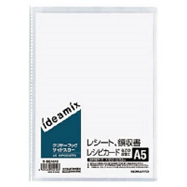 コクヨKOKUYOクリヤーブック固定式サイドスローA510ポケットラ-DEAS12ideamix