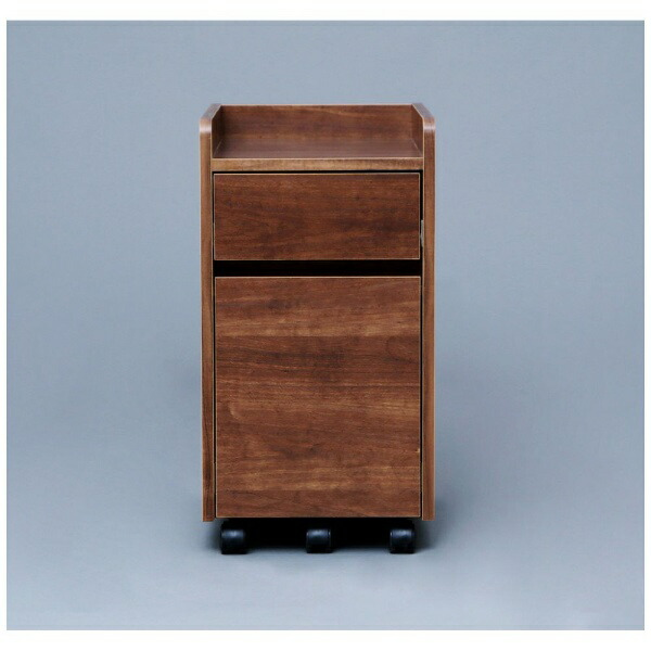 アイリスオーヤマIRISOHYAMAキャビネット(W312xD465mm)ブラウンFDK-3059C