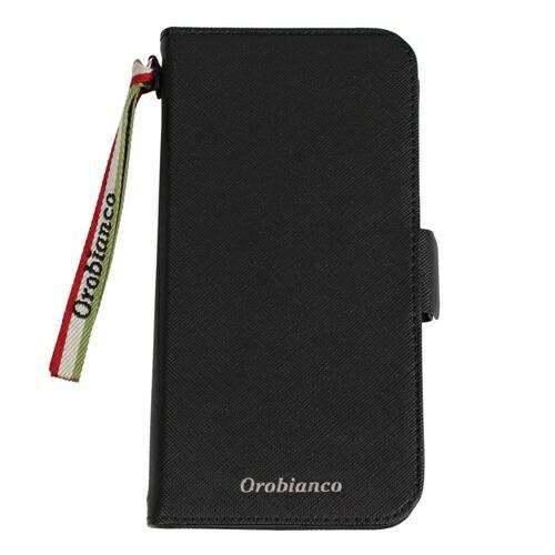 イングリウッドinglewoodiPhone11Orobiancoサフィアーノ調PULeatherBookTypeCaseBLACKorobiancoIP11-ORB01