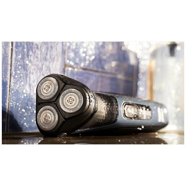 フィリップスPHILIPSウェット&ドライ電気シェーバー[国内・海外対応]Shaverseries3000メタリックブルー/ブラックS3232/52[回転刃/AC100V-240V]