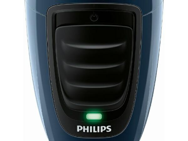 フィリップスPHILIPS電気シェーバー[国内・海外対応]ネイビー/ブラックPQ190/16[回転刃/AC100V-240V]