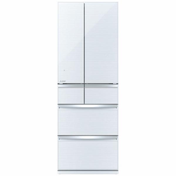 三菱MitsubishiElectricMR-WX47F-W冷蔵庫スマート大容量クリスタルホワイト[6ドア/観音開きタイプ/470L][冷蔵庫大型新品]《基本設置料金セット》