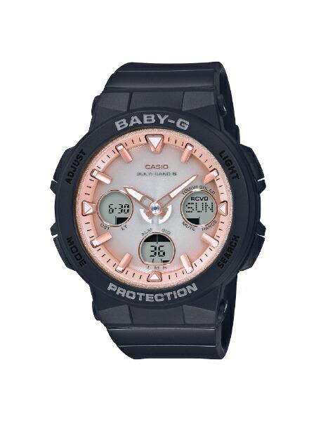 カシオCASIO[ソーラー電波時計]BABY-G(ベイビーG)BeachTravelerSeriesBGA-2500-1A2JF