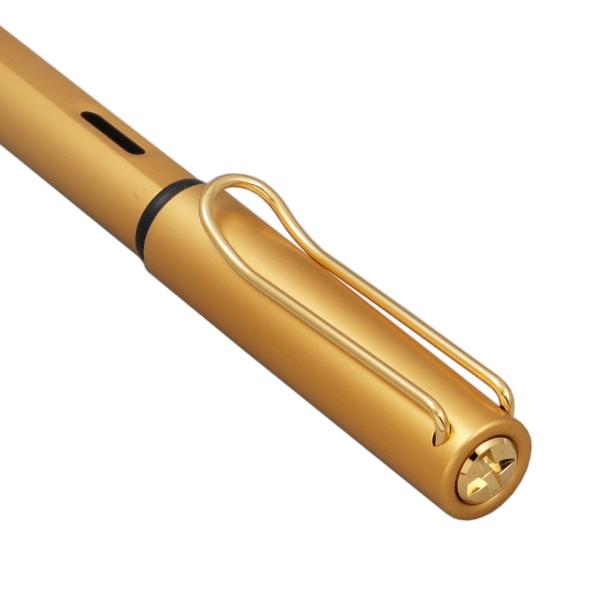 ラミーLAMYルクスゴールド万年筆ペン先サイズ:F(細字)ゴールドL75-F