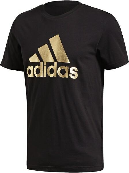 アディダスadidasメンズ8ビットグラフィックフォイルTシャツ(XOサイズ/ブラック)GLZ15FN1735